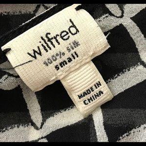 Aritzia Tops - WILFRED Silk Top ARITZIA